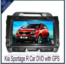 factory price double din car dvd gps for kia sportage car dvd gps navigation system