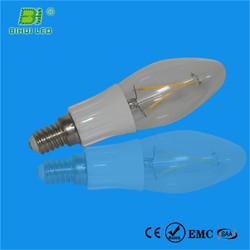 85-245V CE SAA standard glass hot sales t10 led bulb load resistor