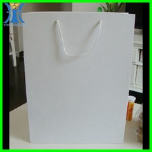 Yiwu 2014 New Arrived Hot sales High quality Bueatiful Design Big Value White Paper Crafting Bags