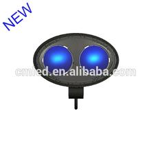 8W BLUE LED 2-LED HYPER FOG WORK LIGHTS OFFROAD 4WD TRUCK CUB JEEP BOAT VAN