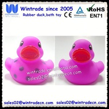 Duck shape kid bath toy/kid promotion toy