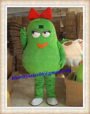 Mikrop maskot kostüm elbise halloween prop yetişkin karikatür