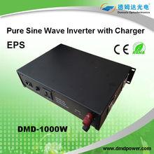 MPPT intelligent pure sine wave lcd inverter 1000w 12vdc 220vac power inverter