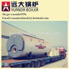 Gas fired hotel steam boiler