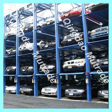 elevadores de autos FPSP series - 4 Post Stacker Car Park Lift