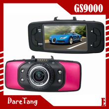 2.7 inch 170 wide angle 4x digital zoom 1920x1080p full hd car rear view camera, with GPS and G-sensor