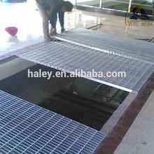 การระบายน้ำเหล็กตะแกรงฝาครอบท่อระบายน้ำ/ตะแกรงเหล็ก( isoและbvรับรอง)