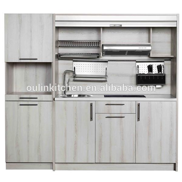 2014 modern solid wood kitchen cabinet view cherry wood for Solid wood modern kitchen cabinets
