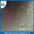 O de aa1070 suave y media duro 0.03 pulgadas precio competitivo para techos de la calle comercial de aluminio en relieve hoja
