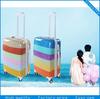 fashion design ABS trolley luggage bag travel suitcase