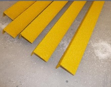 We supply FRP GRP Fiberglass Safety Stair Tread Nosings