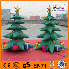 small indoor party inflatable christmas tree