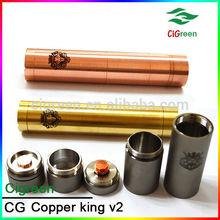 cigreen high quality castle atomizer/quasar atomizer/new surefire king mod