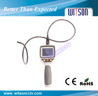 WITSON 2.7'' HD monitor industrial flexible endoscope flexible 1m cable ,3m extension cable for optional(W3-CMP2813X)