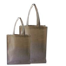 Factory directly eco friendly fashion jute shopping bag & jute burlap bag & jute tote bag wholesale