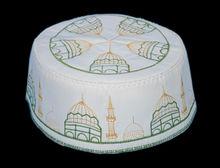 Embroidery Men Muslim Prayer Caps