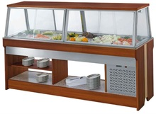 hot stainless steel salad bar with price