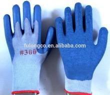 Calibro 10 guantiin lattice/rughe plam guanti per la protezione del lavoro