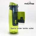 whoesale 2014 logotipo personalizado de agua de plástico botella de agua evian de china
