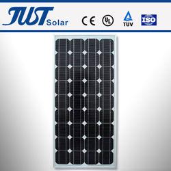 75-100W mono solar panel, solar system, small solar panels for sale
