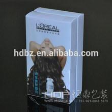 Shampoo package box,pp box
