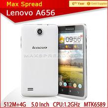 Lenovo A656 Cell Phone MTK6589 Quad core Dual Sim IPS 5.0inch 5MP smart unique mobile