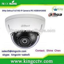 Dahua 3 megapixel ip camera full HD mini dome camera IPC-HDBW4300E ip camera speaker microphone