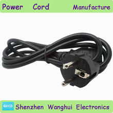 electric wire cable prices 3 pin European 220v power cord reel