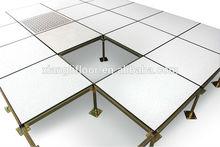 MOB steel raised floor telecommunications company