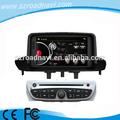 Doble din unidad principal del coche gps para renault megane coche multimedia