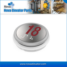 Elevator Push Button With Braille, Lift Parts