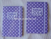 paper calendar diary 2014
