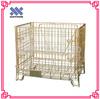 Galvanized Welded Mesh Box Wire Cage Metal Bin Storage Container