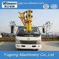Chinês caminhões pickup, gruas de elevação, guindaste móvel para venda