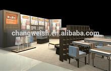 Retail shop display furniture for bedding products , bedding shop display design store fixtures