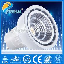 High power AC 5W dimmable gu10 led spotlight fitting
