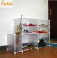 Portable ambiental diy plástico corredor móveis para a sapata( fh- aw094410)