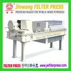 Hydraulic oil filter press, small manual filter press for oil