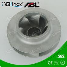 Precision casting stainless steel marine engine impeller