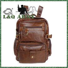 LQ 2014 Fashion Leather Vintage Backpack