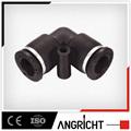 A103 PUL de plástico Equal Elbow de encaje a montaje de neumáticos de la línea de aire o de vacío