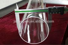 Smooth surface quartz glass tube/Silica quartz tube for lab equipment