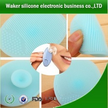 professional silicone best face cleanser /clear sonic facial brush
