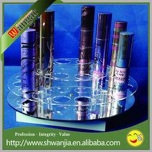 acrylic rotating nail polish rack, acrylic nail polish rack, rotating acrylic nail polish rack display