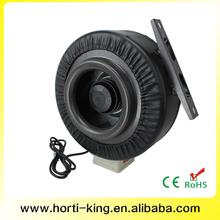 "Hydroponic Centrifugal Fan Inline Fan 8"" - 555 CFM mini electric 230v ac motor"