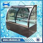 sliding glass door refrigerated bakery display case