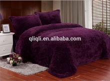 The best fashion chrismas bedding 100% polyester comforter bedding set