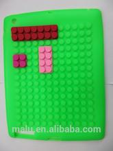 J0177 Brick Silicon e Magnetic Stand Smart Cover Case for New iPad mini 1/2