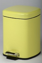 square stainless steel containers waste bin rubbish bin