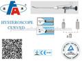 lente telescopio de óptica de endoscopia histeroscopio endoscopio rígido de endoscopia